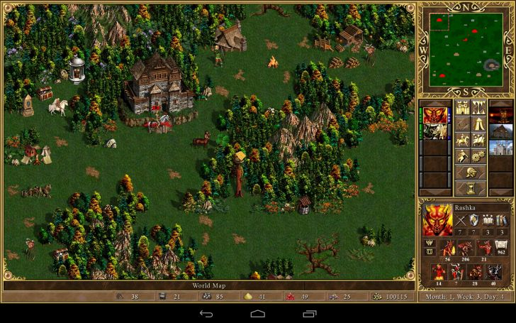 Скачать heroes of might & magic iii – hd edition 1. 0. 7 для android.